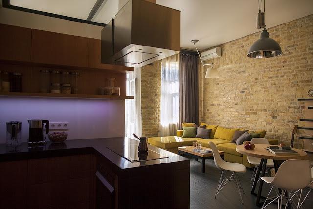 LED-Licht setzt auf Stimmung - perfektes Design-Zusammenspiel in kleiner Wohnung