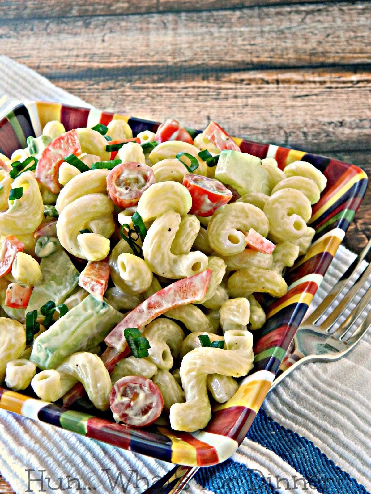 Spring Pasta Salad- Pasta Palooza