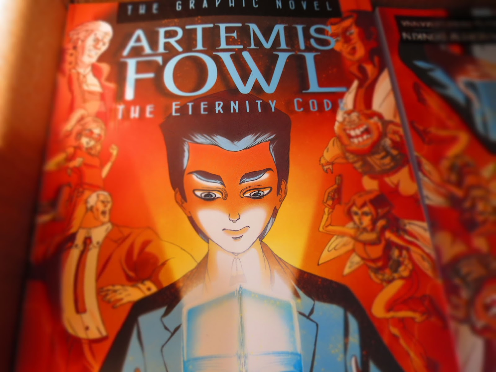 Artemis Fowl 03  The Eternity Code Graphic Novel