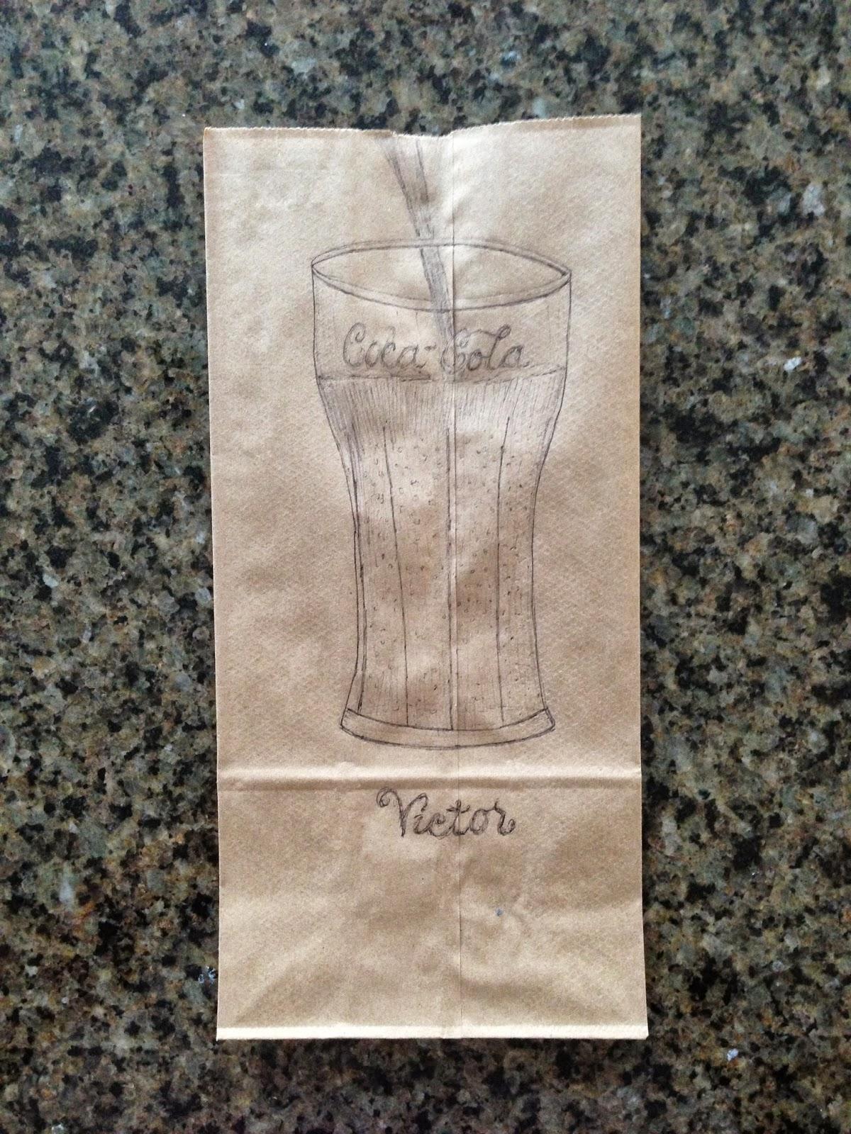 Classic Glass of Coca-Cola