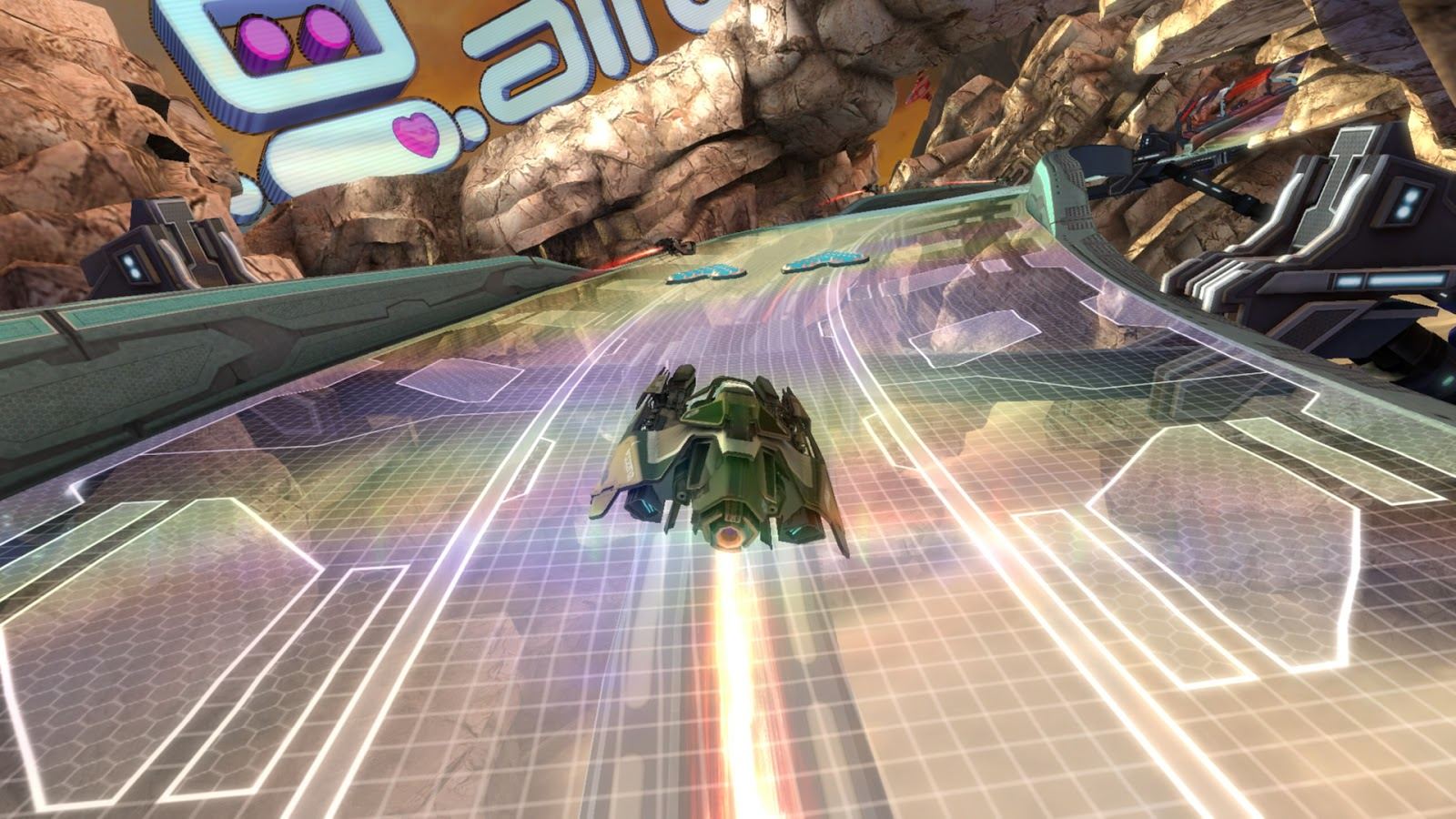 Circuito Wipeout : Navar world análisis wipeout hd fury psn