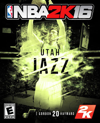 NBA 2K16 Custom Covers - Utah Jazz