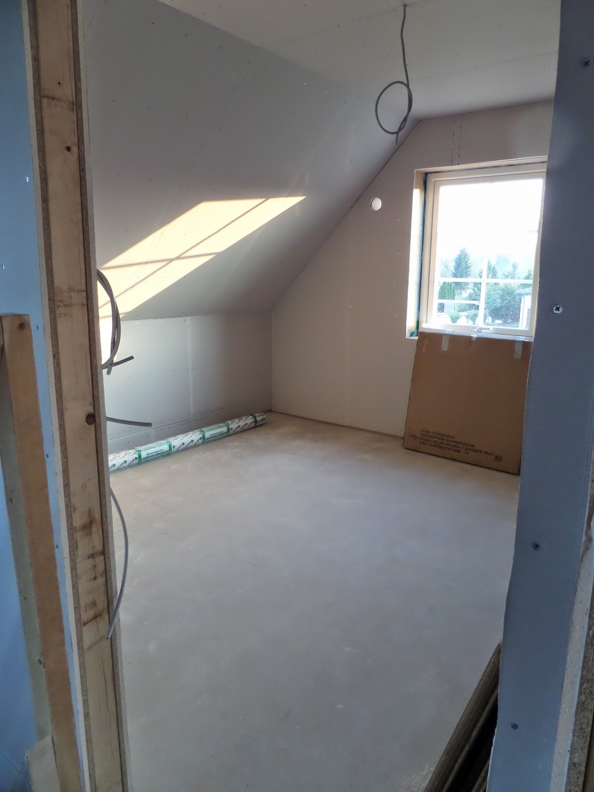 kleine lotta unser schwedenhaus geschlossene w nde und spachteln. Black Bedroom Furniture Sets. Home Design Ideas