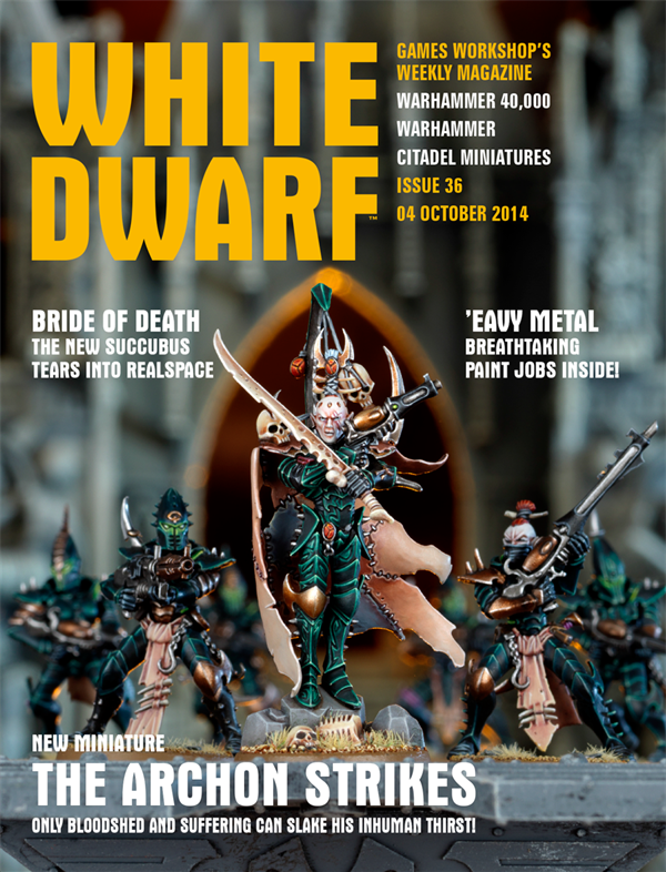 White Dwarf Weekly número 36 de octubre