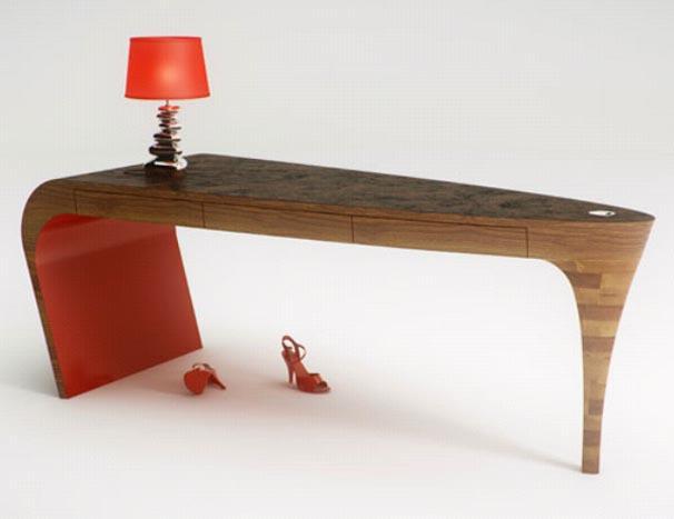 Unique Furniture Desk Design for Modern Interior Home