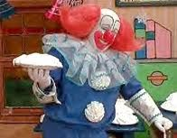 Bozo The Clown with a pie