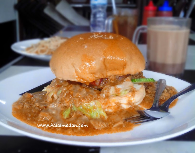 Burger Klenger di Rumah Burger Medan