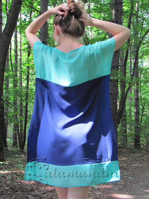Sukienka à la latająca wiewiórka