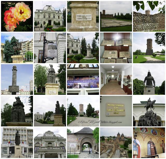 """""""Târgovişte este un municipiu, reşedinţa de judeţ şi cel mai mare oraş al judeţului Dâmboviţa (Muntenia, România). Are o populaţie de aproximativ 89.000 de locuitori. Reşedinţă domnească şi capitală între 1396 şi 1714, oraşul a deţinut mai bine de trei secole statutul de cel mai important centru economic, politico-militar şi cultural-artistic al Ţării Româneşti."""" """"Târgoviște (alternative spelling: Tîrgoviște; Romanian pronunciation: [tɨr.ˈɡo.viʃ.te]) is a city in Romania, being the county seat of the Dâmbovița County. It is situated on the right bank of the Ialomiţa River. At the 2011 census Târgoviște had a population of 73,964,[1] making it the 26th largest city in Romania. One of the most important cities in the history of Wallachia, it was its capital between the early 15th century and the 16th century."""" Read more on Wikipedia"""