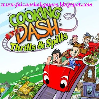 Cooking dash 3 thrills and spills review
