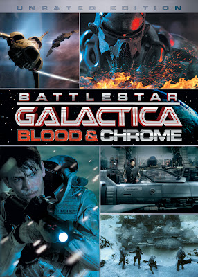 Battlestar Galactica Blood & Chrome iPad Movie
