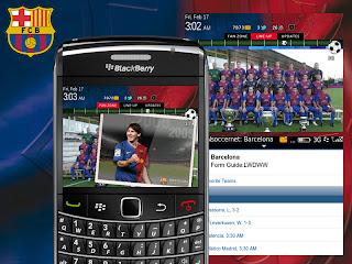 Theme Barcelona for BlackBerry