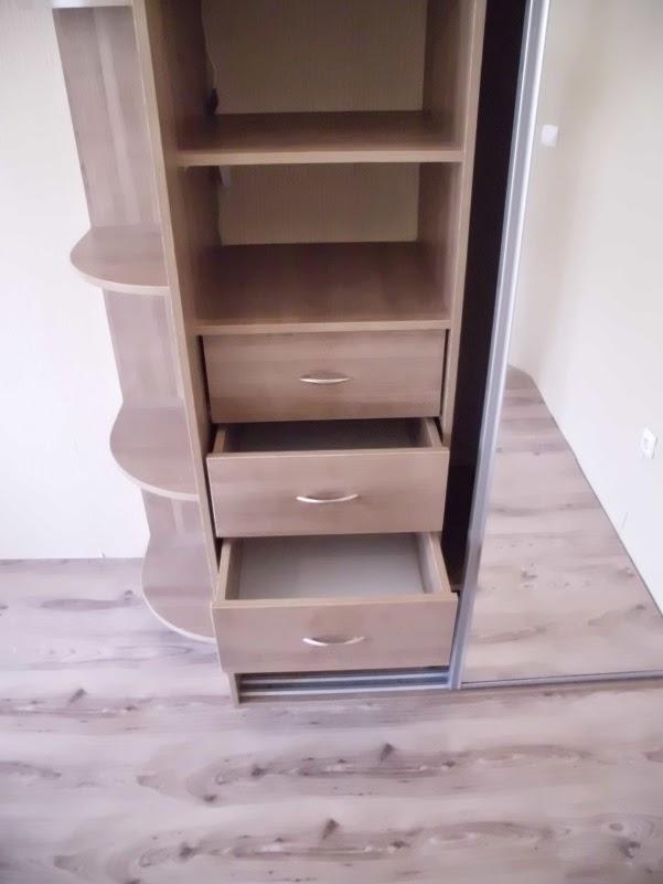 Простой ремонт однокомнатной квартиры своими руками: шкаф ку.