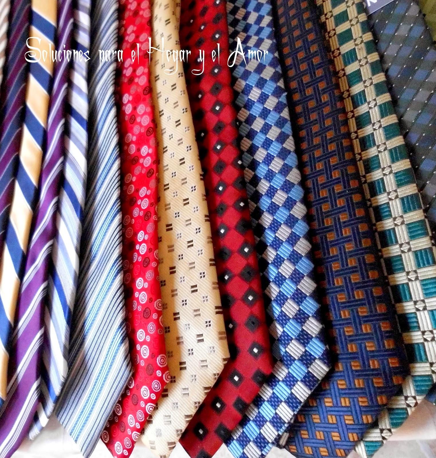 Corbatas de todos los colores y gustos, textiles, diseños
