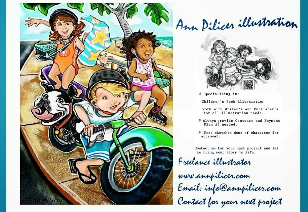 Ann Pilicer Illustration