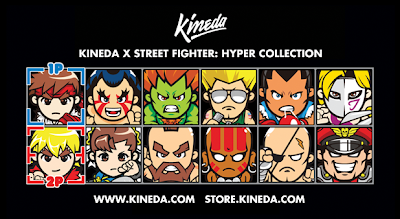 Kineda x Street Fighter: Hyper Collection T-Shirt Line