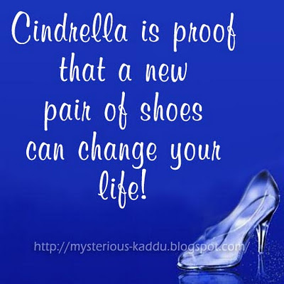 Buy New Shoes, Change Your Life!