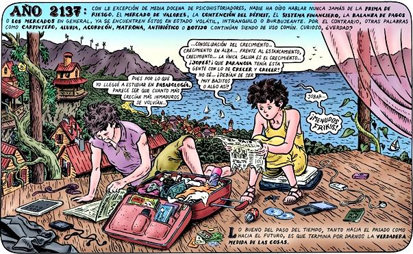 'Memorias de la Tierra', de Miguel Brieva | imagen: Reservoir Books