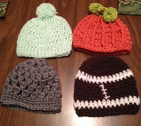 Baby Pumpkin Hat - AllFreeCrochet.com - Free Crochet