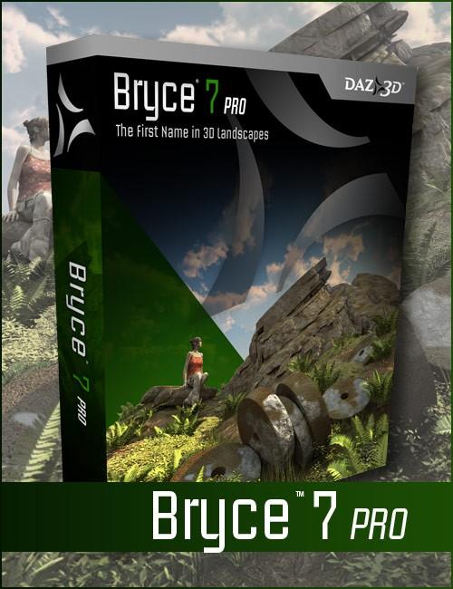 DAZ 3D Bryce 7.1 Pro Full Crack