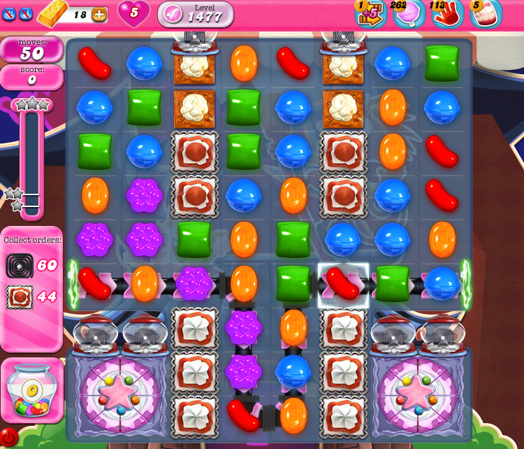 Candy Crush Saga 1477