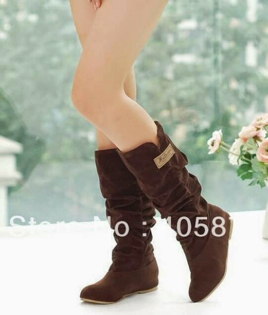 latest designs of winter shoes for western girls 2015