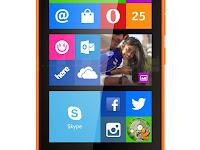 Nokia X2, Ponsel Dual Core Kamera 5 MP Layar 4,3 Inci