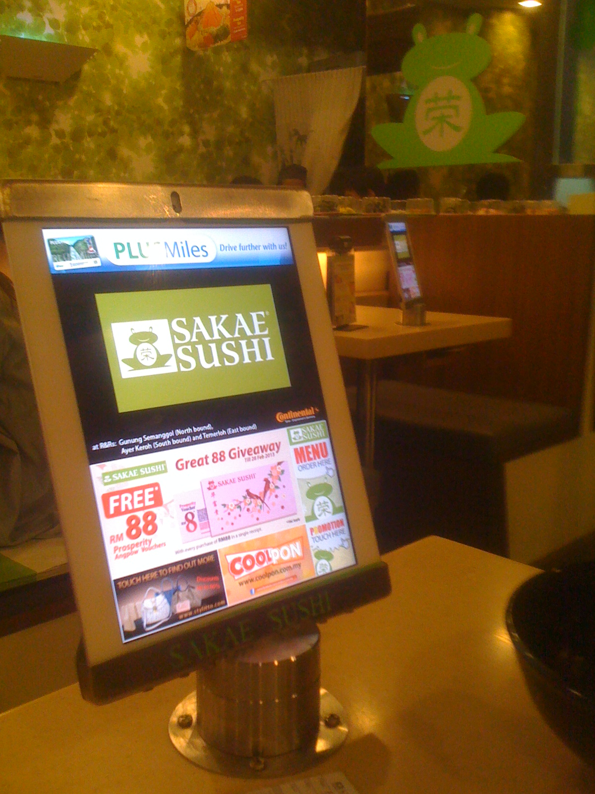 Mission Accomplished : Sakae Sushi --- We Serve Only What We Eat