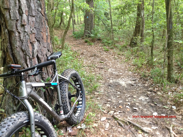 Louisiana mountain biking
