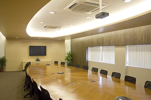 Ruang Rapat Kantor Mewah Modern Minimalis
