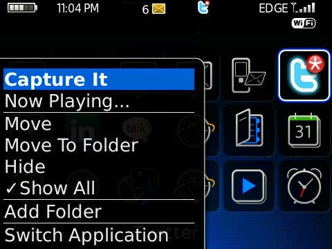 Capture Screen BlackBerry dengan Mudah