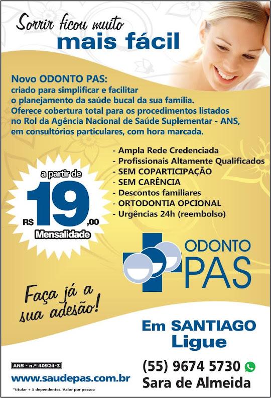 Convênio Odontológico Odonto PAS