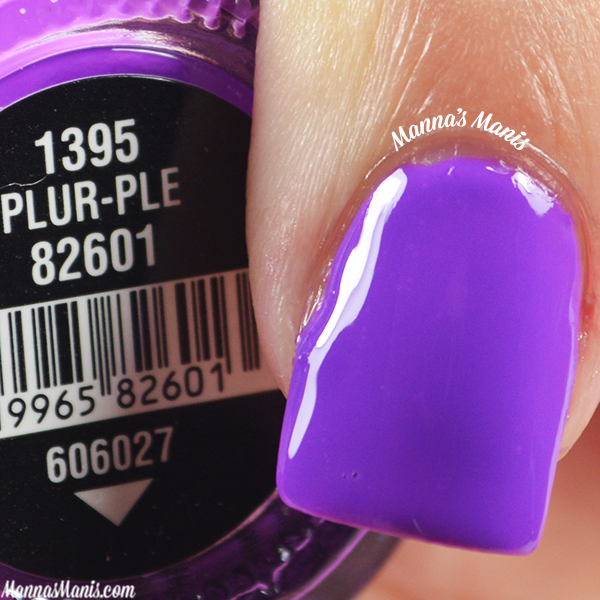 China Glaze Electric Nights Plur-ple swatches