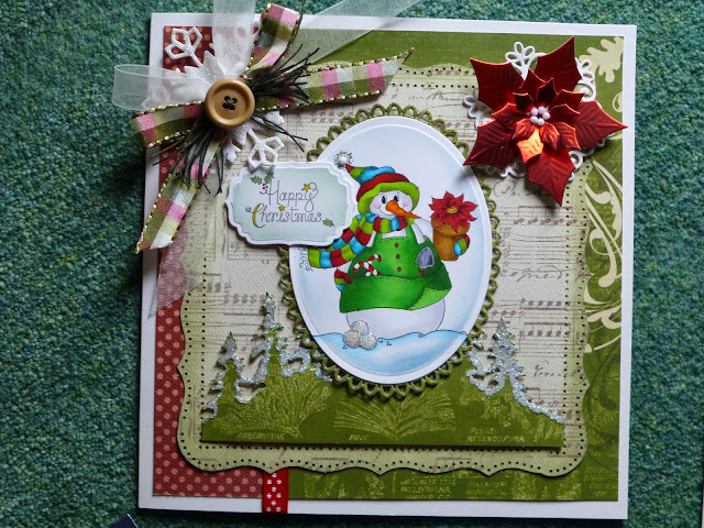 Last Year's Christmas Craft Day Design for GHP using Molly Blooms