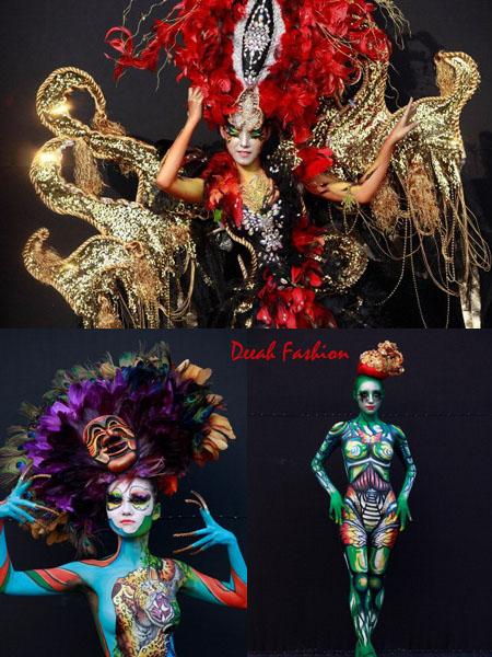 Festival Bodypainting Seni Melukis Tubuh di Korea