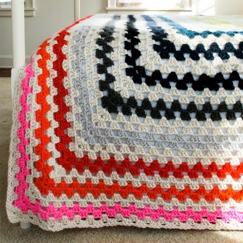 Giant, Giant Granny Square Blanket