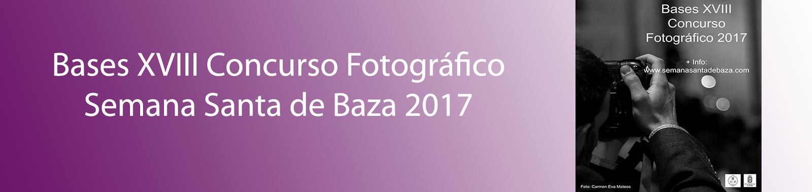Bases concurso fotográfico