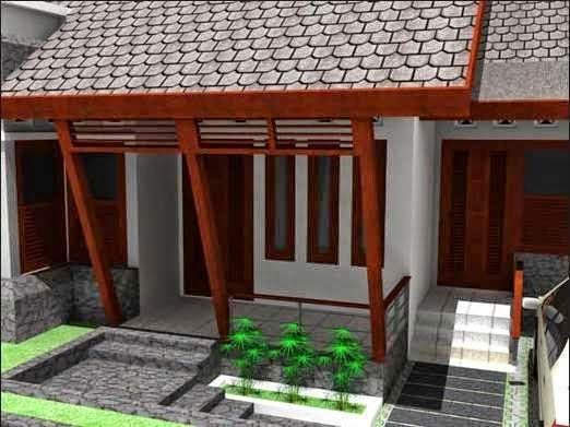 Sketsa desain rumah minimalis sederhana