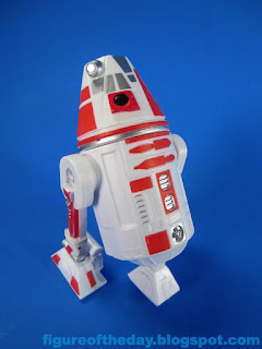 R4-Series Astromech Droid White with Red and Silver
