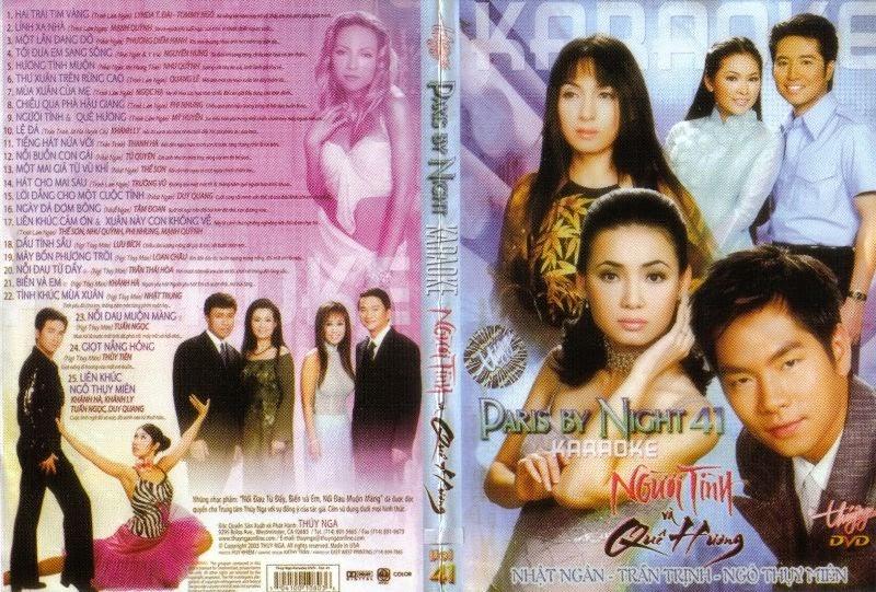 PBN Karaoke 41: Người Tình Và Quê Hương (DVD9)