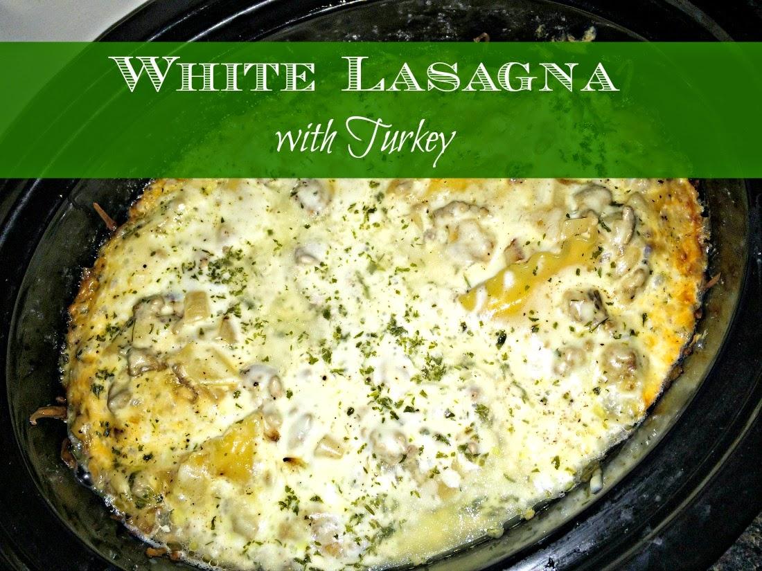 lasagna, crockpot meal, lasagna in a crockpot, white lasagna