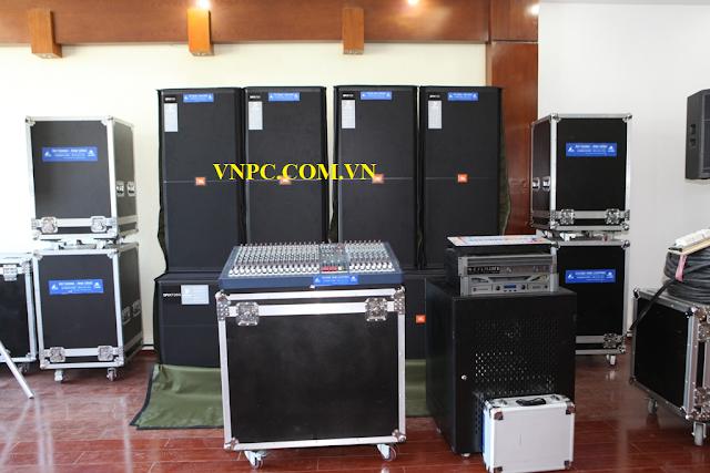 dàn âm thanh cho thuê của VNPC