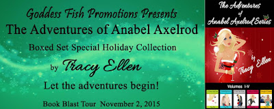 Excerpt and Giveaway: The Adventures of Anabel Axelrod Series by Tracy Ellen