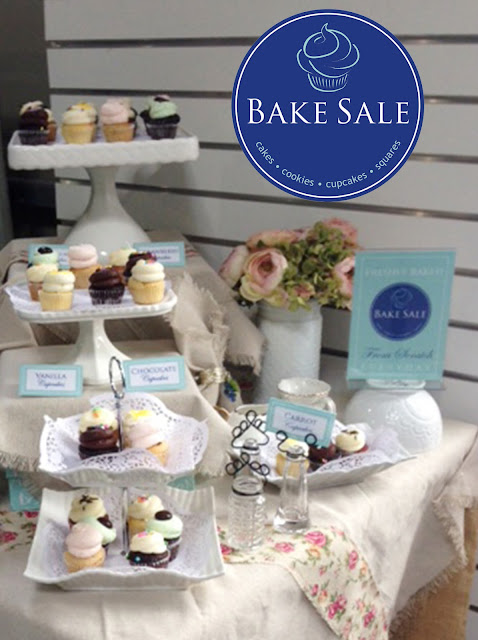 Bake Sale - cupcakes, cakes, cookies, squares and more | 3 Toronto locations