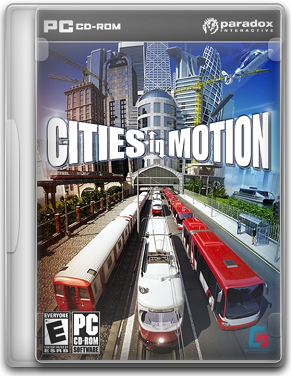 Capa Cities in Motion   PC (Completo) 2011