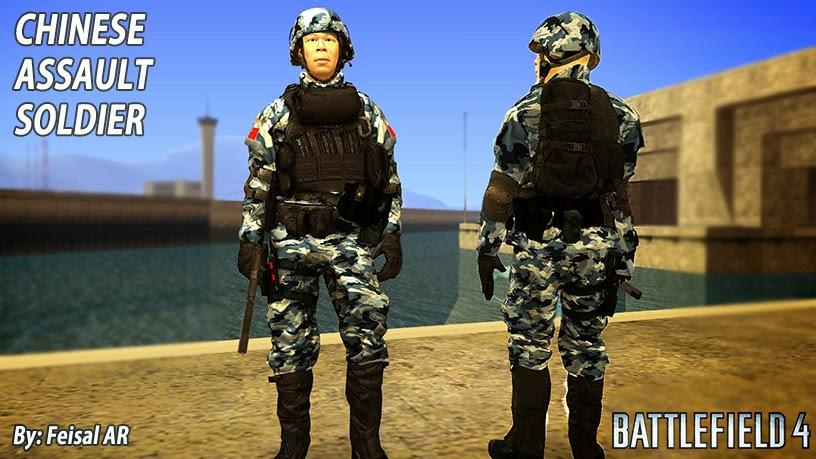 pla battlefield 4 skin gta