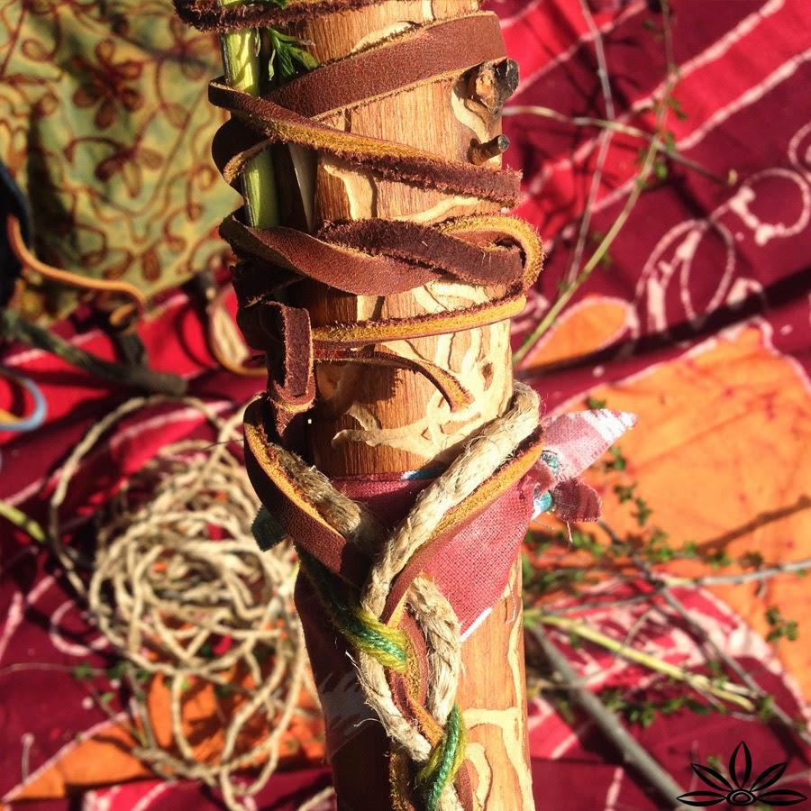 Walking stick+3 - How to Make a Boho Walking Stick