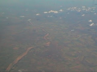 Queensland view from flight Cairns Brisbane Australia