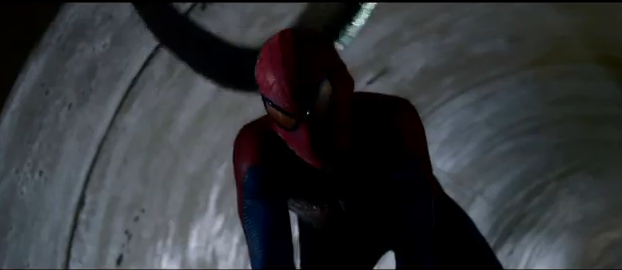The Amazing Spider-Man 2012 adventure film Spider-Man in the sewers with The Lizard