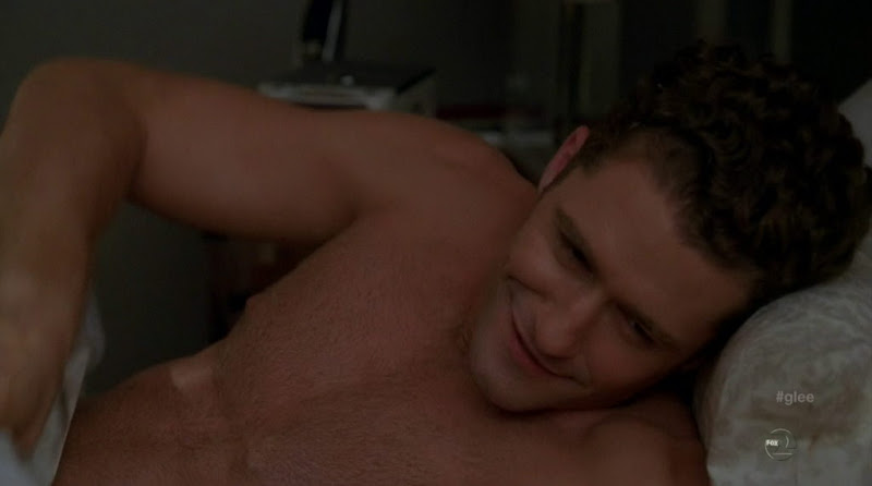Matthew Morrison Shirtless in Glee s3e01